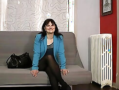 french mature shemale gets fucked hard by a man on the floor