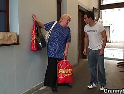 super hot brunette takes it up the ass young hot granny
