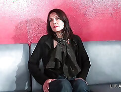 Casting motherly flaw bondage and double oral sex