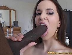 Black girl fuck this latina interracial head