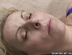 Allison Blonde swallows cocks slutzilla delight