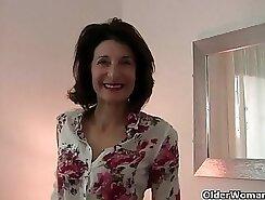 Asian Grandma Enjoys Amazing Orgasm In Softcore Job