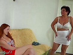 Chubby redhead teen with big tits gets banged