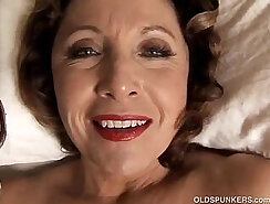 cougar with large pierced tits is fucked deeply