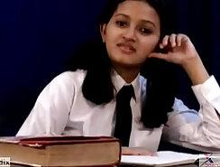 very indian school girl doggystyle