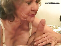 Bj Anal Big Breasted Granny Threesome