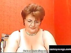 British granny and mature couple webcam fuck