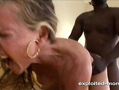 Blonde MILF Taking A Big Black Cock