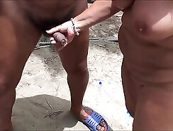young cutie fucked on the beach