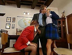 British Schoolgirls Having FUN with Teachers