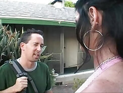 Big Tit Brunette MILF Teaches How to Prevent Contaminants From Getting Down