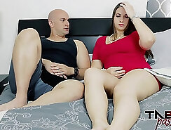 BBW Mom milf rubs and fingers pussy and gets cream blasted