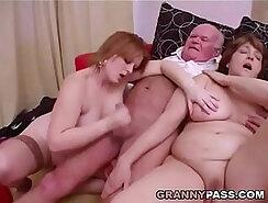 Busty Nina Teaches A New Grandpa How to Fuck