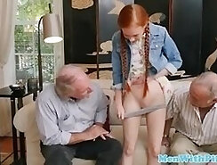 Big Titty Redhead Simone On A Hard Day
