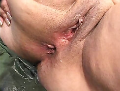 chubby mature with big bum is