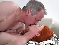 Cheating Brunette Wife Brittney Young Plowed By Grandpa