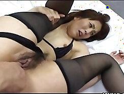 Asian WifeRwelle Giving Hot Blowjob
