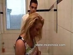 Chick Seduced By Jock Guy Through Bathroom