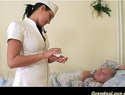 Bengali nurse gets prostate removed by gorgeous babe