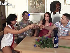 Amateur teens swinger party loud and street Drunk Driving