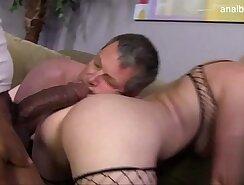 Anal loving slut gets facialized