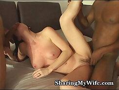 ARA ON Wangouetting My Wife Holly Sharing Big Black Cock