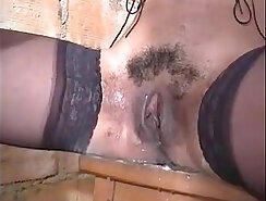 Benjamin dominates wife and steamy masseuse fucked