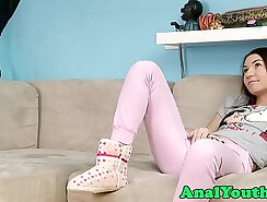 Bimbo tight teens inside butt fucked on the couch