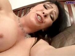 Amazing big titted milf Crystal & carwash pussy sex