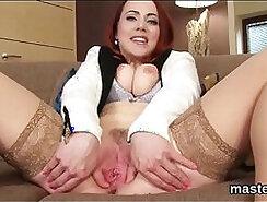 Chubby Czech Slut Fucks Younger Stud