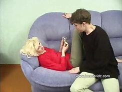 Blonde mom wrecked by big black penis