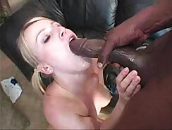 Blonde With Amazing Ass Crazed At An Interracial Bang-Out