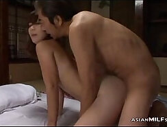 sexy milf is in the office, riding her mans cock in her pussy