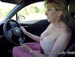 Blonde mature lady Sonia with sexy body deepthroat by Manuel Ferrara