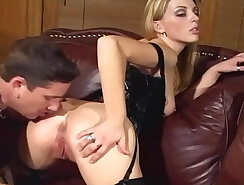 Big Women Eating Pussy In Stocking