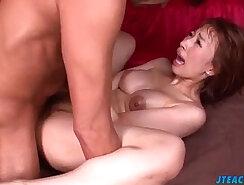 Superb Tiara Ayase drilled in crazy scenes of Asian porn